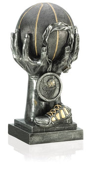 Basketball Hands Deluxe Trophy 18 inches!