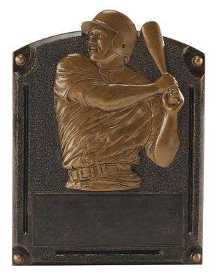 Baseball Resin Plaque 6 x 8