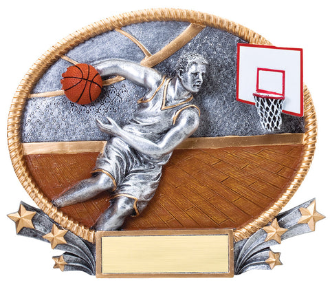 Basketball Male 3D Resin
