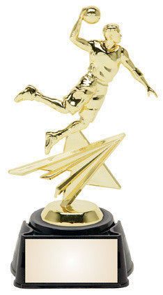 Basketball Male 8.25 inches sports star trophy