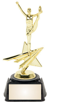 Cheer 8.25 inches sports star trophy