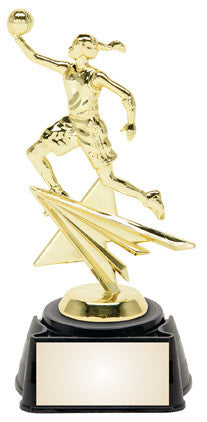 Basketball Female 8.25 inches sports star trophy