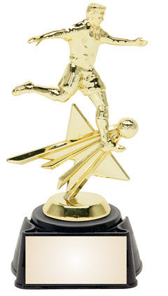 Soccer Male 8.25 inches sports star trophy