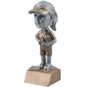 Female Coach Bobblehead