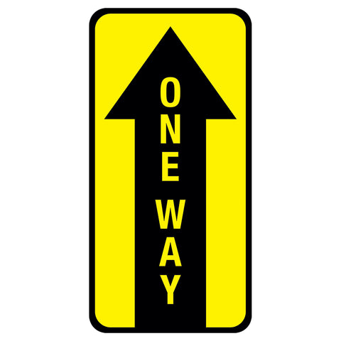"6"" x 12"" One Way Floor Graphic"