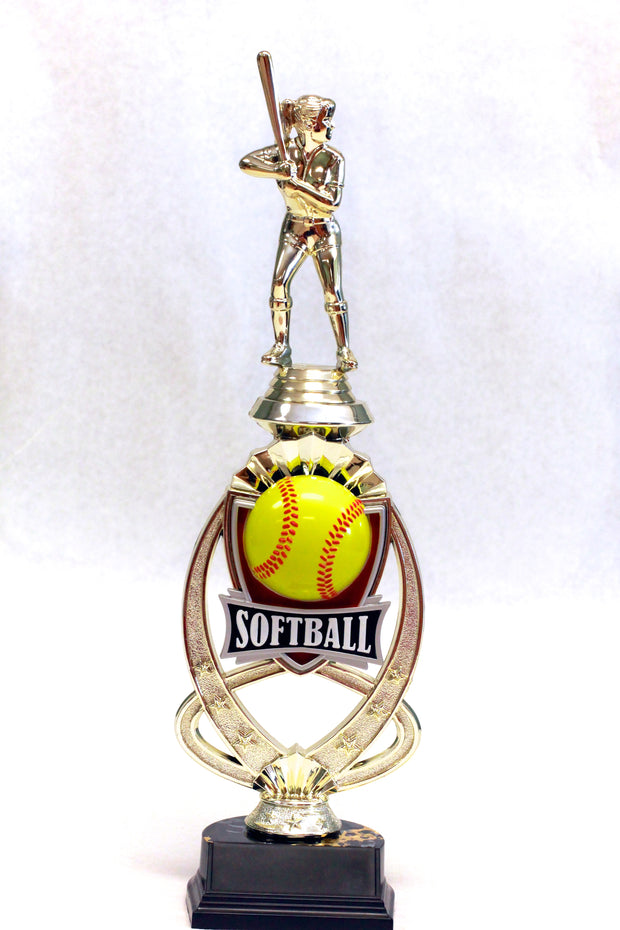 Softball full color 13.5 inches tall