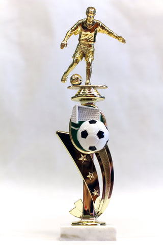 Female Soccer Full Color Trophy
