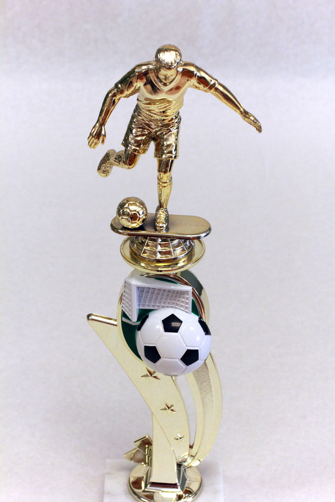 Male Soccer Full Color Trophy