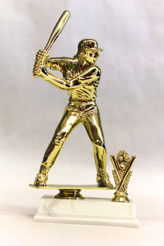 Softball Batter with Cross Bats - 11 inches tall!!