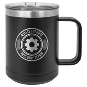 15oz Insulated Mug with Slider Lid