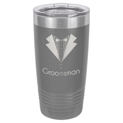 20 oz. Vacuum Insulated Tumbler w/Clear Lid