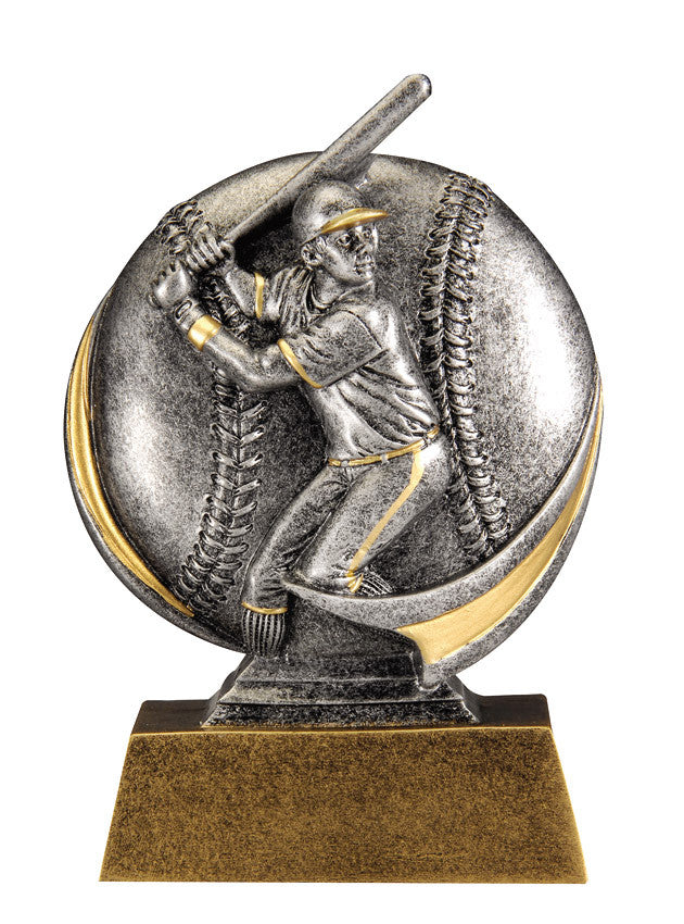 Baseball Male 3D Resin