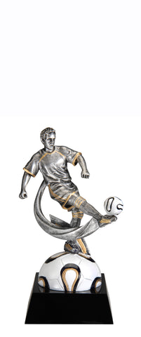 Soccer Male Big Kick Trophy