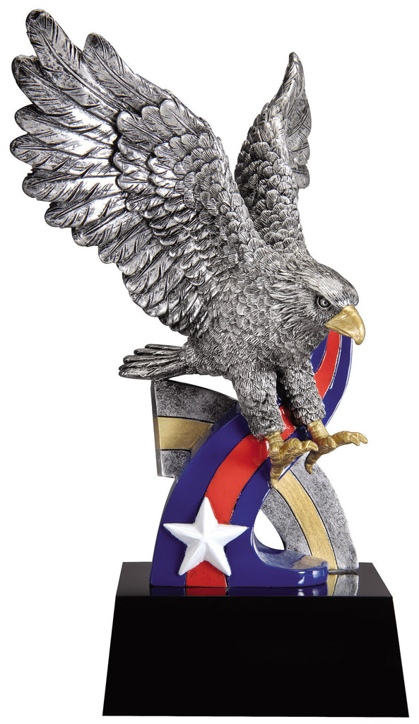 "Star and Stripes Eagle 9.5"" Tall"