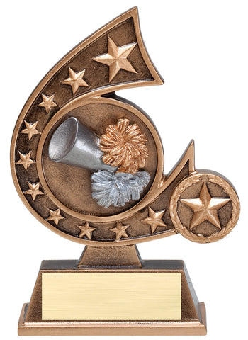 Cheerleading Comet Trophy