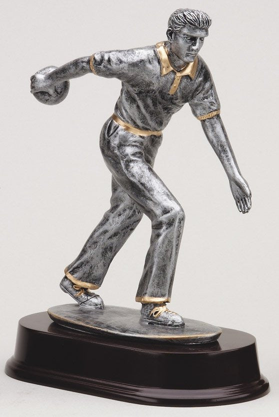 The Bowling Resin Resin Sculpture-Male