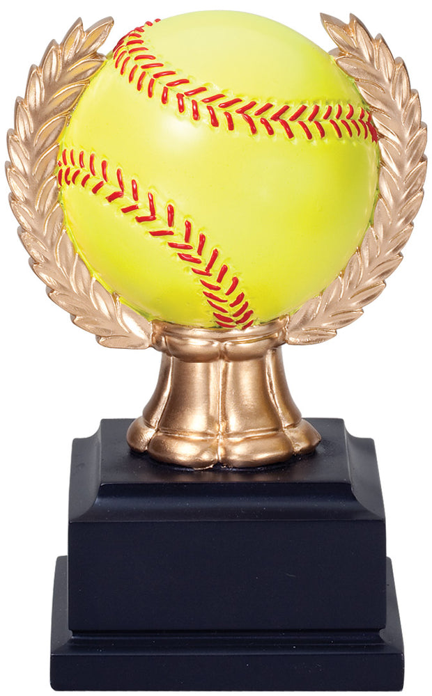 Softball Wreath Trophy