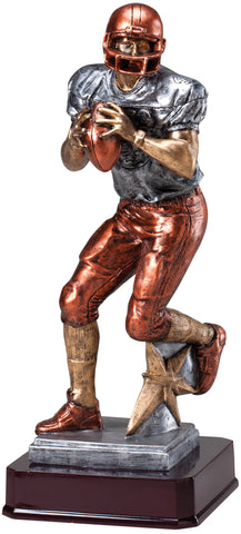 Quarterback Large Resin Statue