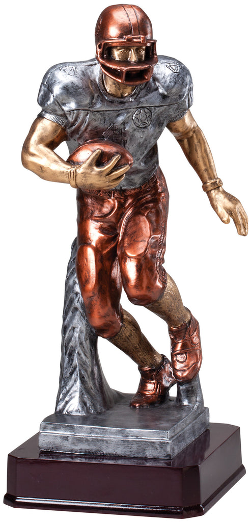 Football Runner Resin Statue