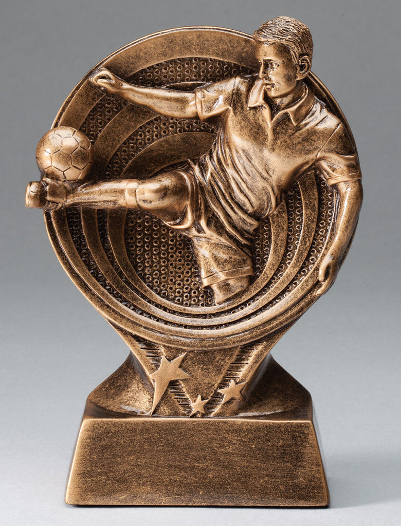 Male Soccer Saturn Series Trophy