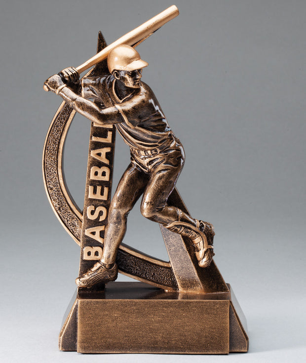 Male Ultra Action Sport Baseball Trophy