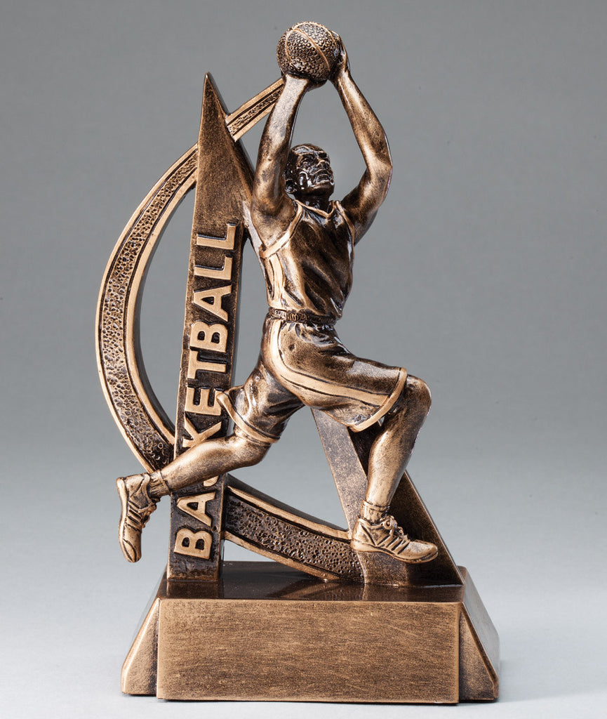 Male Ultra Action Sport Basketball Trophy