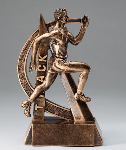 Male Ultra Action Sport Track Trophy