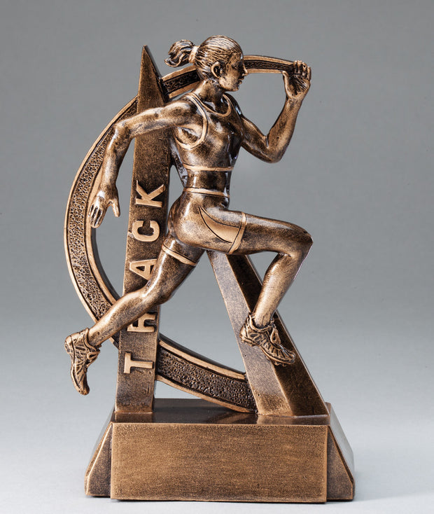 Female Ultra Action Sport Track Trophy