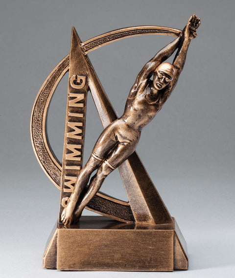 Female Swimming Ultra Action Sport Trophy