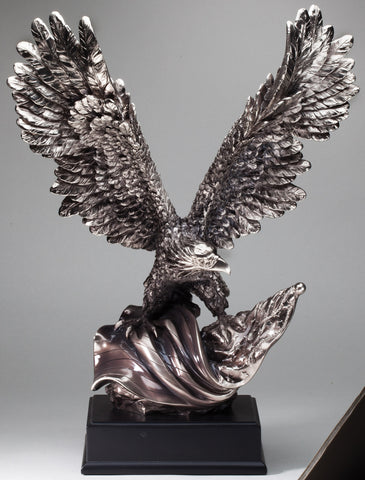 Electroplated Resin American Eagle 19 inches