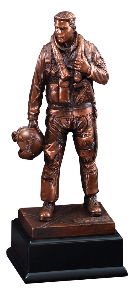 American Hero Airforce Standing Sculpture
