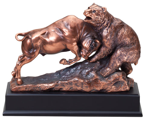 Bull and Bear Resin 223