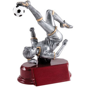 Soccer Female Bicycle Kick