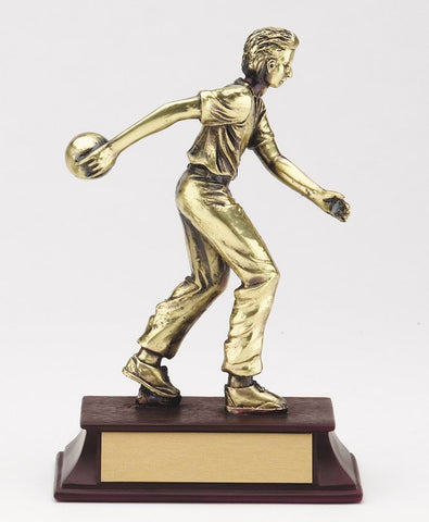 6 inch Bowling Statue Male