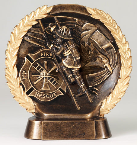 Fireman High Relief Award