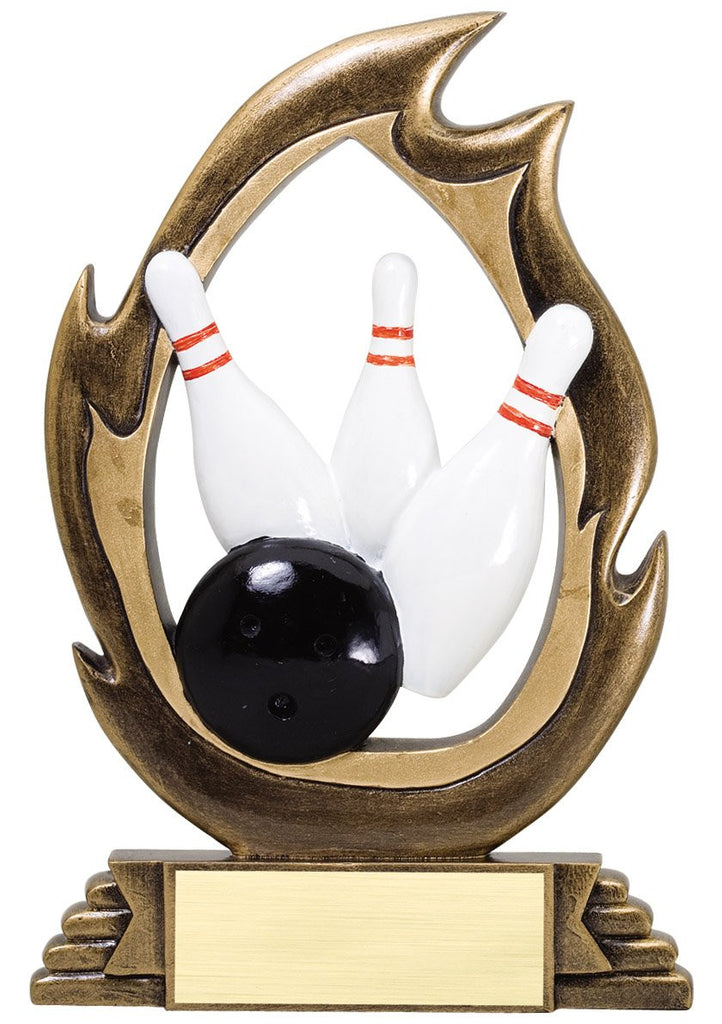 The Bowling Award-Flame Series