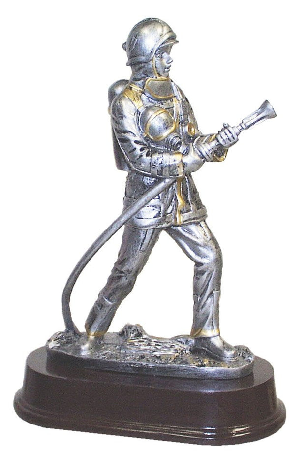 "Firefighter Resin 8"" with Hose"