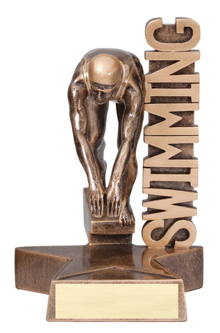 Billboard Swimming Trophy-Female