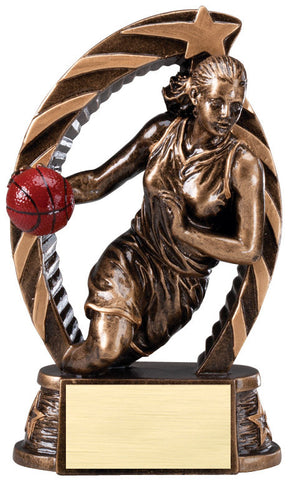 Basketball Running Star Female