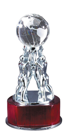Globe Recognition Award 8 inches tall