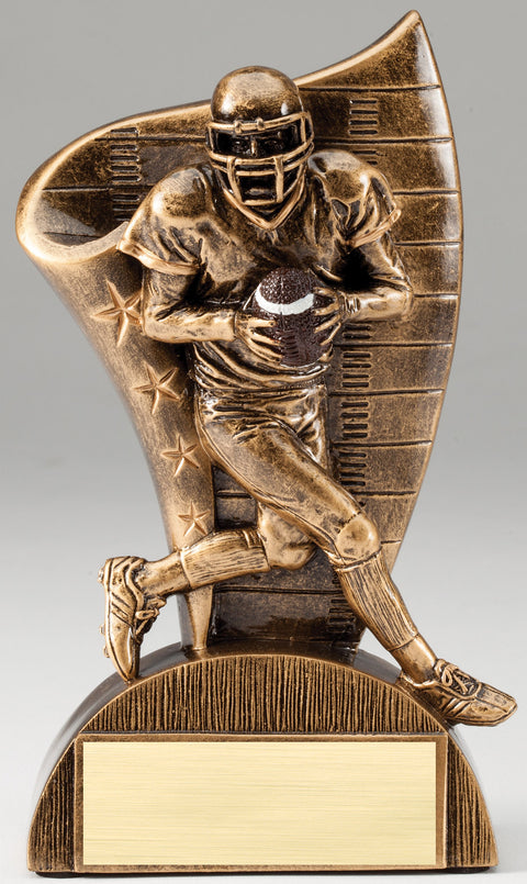 Football Runner Series Trophy