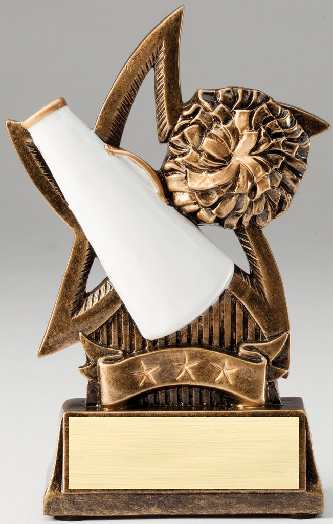 Sweeping Star Cheer Trophy