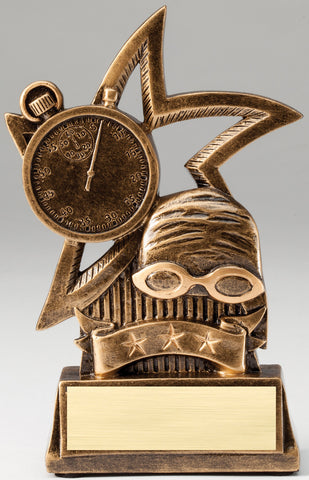 Sweeping Star Swimming Trophy