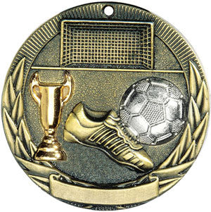 Full Victory Soccer Medallion Gold