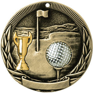 Full Victory Golf Medallion Gold
