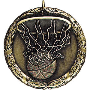 Swish Basketball Medallion