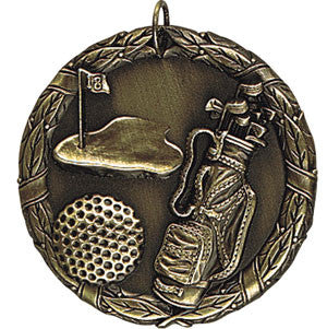 All Golf Medallion Gold