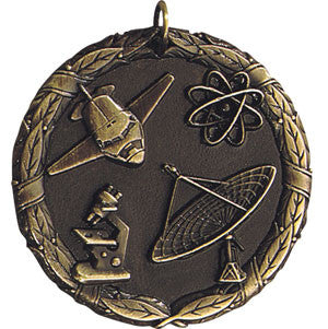 The World of Science Medallion Gold