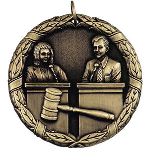 The Debate Team Medallion