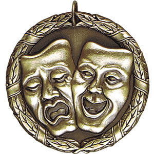 Drama Arts Medallion Gold